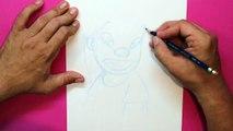 Cómo dibujar a Lilo (Lilo and Stitch) - How to draw Lilo Pelekai