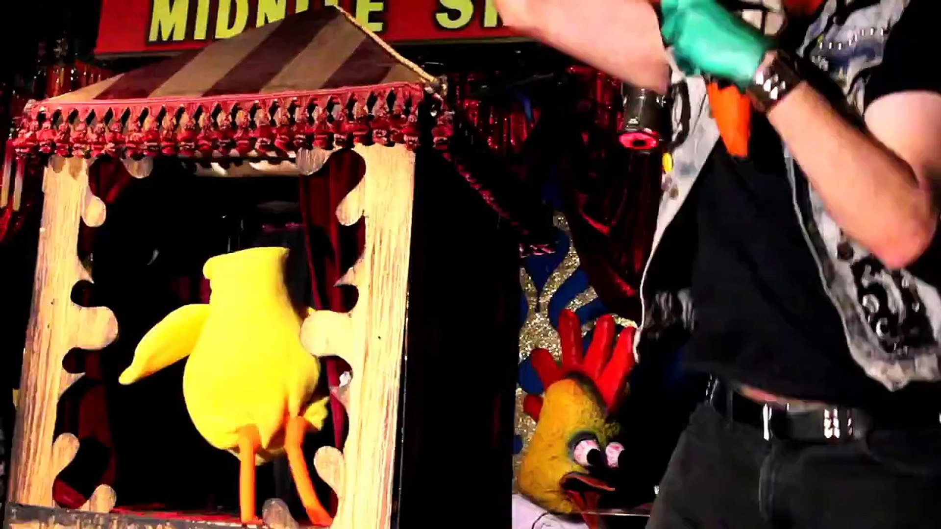Headless Mike (Mike the Headless Chicken song) Radioactive Chicken Heads music video