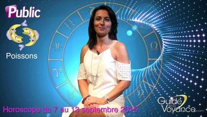 Horoscope Poissons Patricia Lasserre semaine du 7 septembre 2015