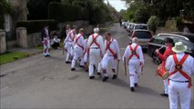 White Hart Morris Men - Cross Sticks - Headless Cross - May Bank Holiday Tour 2015 Kemerton