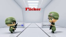 Flicker - Cinema 3D monitor