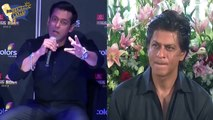MUST WATCH- Salman Khan Imitating Shahrukh Khan At Filmfare Awards 2015