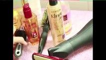 lisser ses cheveux sans aucune chaleur( pas de sèche cheveux ni brosse soufflante ni fer à lisser)