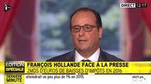 """François Hollande : """"J'ai l'impression de participer à une téléréalité depuis 2012"""" - ZAPPING ACTU DU 07/09/2015"""