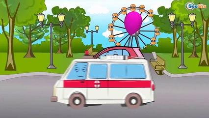 ➲ Мультики про машинки- на заправке. Рабочие машины- Бензовоз. Мультфильмы для детей. (1)