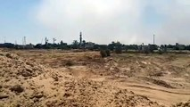 Tunnel excavated below mosque in Khuza'a - Gaza BY HAMAS' TERRORISTS is destroyed by IDF - 30.7.14