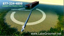 """""""LAKE GROOMER"""" for lake weed control and lake muck removal"""