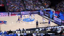 Parker Finds Batum for the Alley-Oop Dunk! - EuroBasket 2015