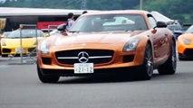 【LBランボ大集結】富士スピードウェイにLBランボルギーニが集結!!/LB Lamborghinis