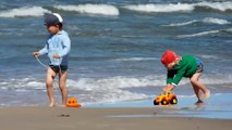 Лиепайский пляж, август.