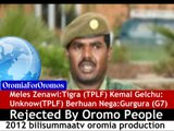 BilisummaaTV:Oromo People Rejected Meles,Kemal,& Berhuan