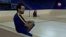 FCB Lassa (hockey): Ricard Muñoz y Xavi Barroso previa CH Caldes (Liga Catalana)