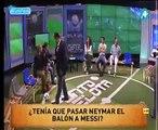 Suposta bronca de Messi em Neymar gera discussão ao vivo entre jornalistas
