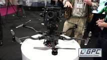 Freefly Alta Drone with Top-Mounted Gimbal at NAB 2015