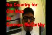 Pretentious Reader Douche: Week 4 - No Country for Old Men by Cormac McCarthy