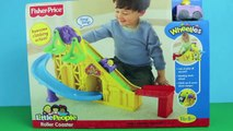 Wheelies Roller Coaster Disney Cars Wheelies Lightning McQueen Mater, Little People and Racers