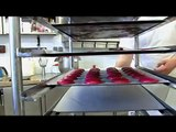 Fabrication des macarons framboises