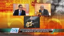Abraham Falcón: Gran Luthier de Guitarras realiza homenaje a Óscar Avilés
