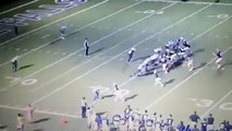 Funny Video: High School Football Players Tackle Referee Because of a Bad Call