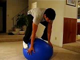 Tricks on an Exercise Ball