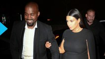 Kanye West All Smiles During His Night Out With Kim Kardashian