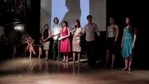 """Ezequiel Paludi & Geraldine Rojas,""""Noches de luna"""", Voronezh,shows and interview,org.Tango Máximo"""