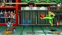 Super Street Fighter II Turbo HD Remix - XBLA - Caucajun (Ken) VS. Roseya (Chun-Li)