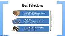 UNEA DEEE Collecte et Recyclage des déchets informatiques et électroniques (DEEE ou D3E) PRO.wmv