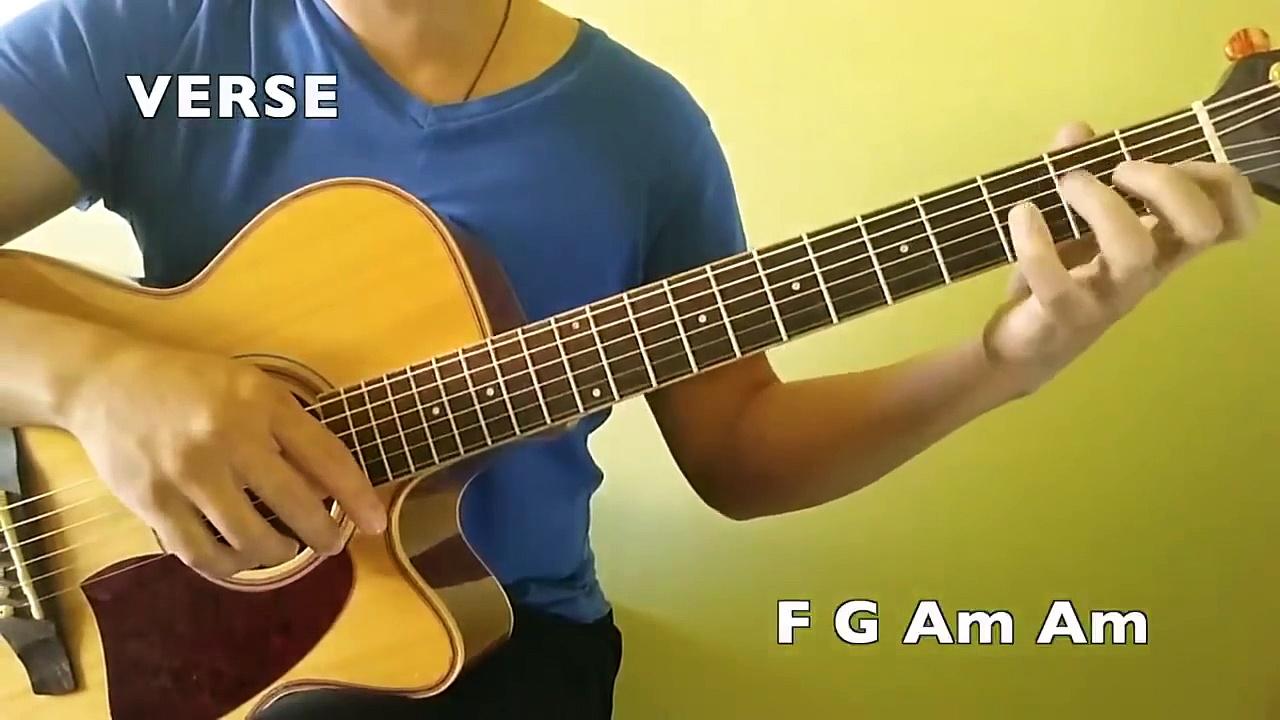 Rude – Magic! – Easy Guitar Tutorial (No Capo)