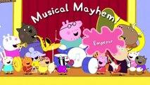 sonidos de instrumentos musicales de viento, aprende con peppa pig