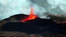 Volcano - Piton de la Fournaise (31 juillet - 01 aout eruption, volcanic)