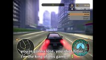 Hitler, Fegelein, Inglourious Hitler, and Angry German Kid Play NFS Most Wanted 2005