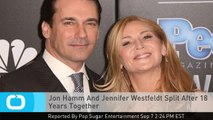 Jon Hamm And Jennifer Westfeldt Split After 18 Years Together