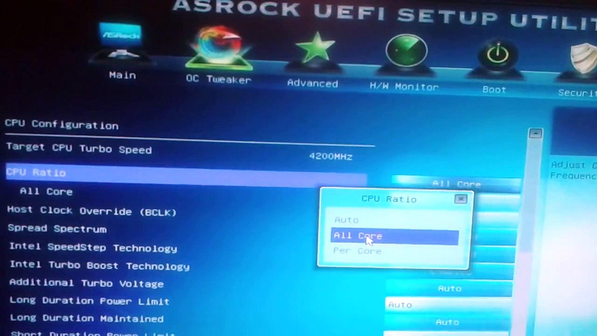 How to overclock i5 3570(Разгон Intel core i5 3570 без k/Оverclocking Intel  Core i5 3570(not k))