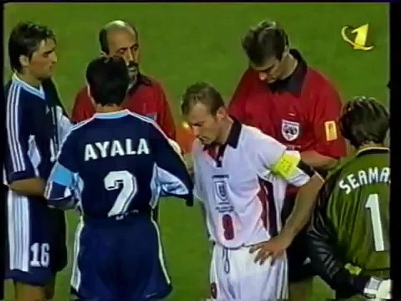 Футбол фифа 1998 англия аргентина видео
