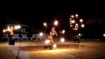 hula HOOPING (hULa  hoop de FuEgO CoRDinAdo) fire show SoUl eLeMeNts mDf