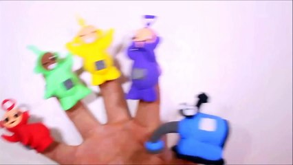 Teletubbies Play Doh Finger Family