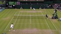 Novak Djokovic hits best return ever - Wimbledon 2014.
