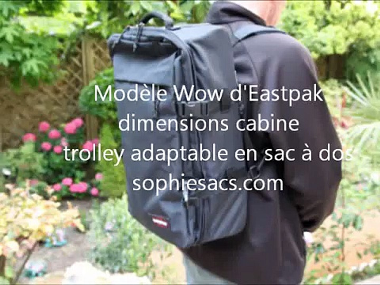 Cabine Dos Sac Voyage WowTrolley Eastpak Adaptable À kZwiOPXuT