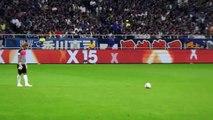 カンボジア代表 ソウ・ヤティーのフリーキック 3 - JPN vs CAM 2015.9.3
