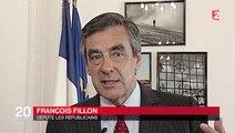 JT de France 2 - François Fillon sur l'accueil des réfugiés
