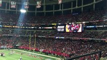 Kiss Cam at the Atlanta Falcons Game. Oh, kiss cam...you lucky dog.