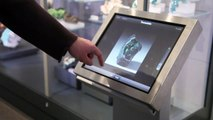 Interactive e-Labeling Touch Screen Kiosk at Royal Ontario Museum