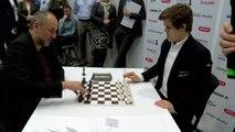 Une partie d'échecs très rapide