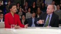 Sahra Wagenknecht zitiert Volker Pispers zum Thema Außenpolitik der USA