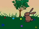 (Animated 2D Cartoon) Funny Bunny Rabbit Video - Short Animation Clip for Kids.mp4