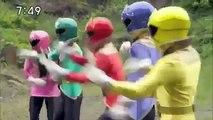 Power Rangers Super Megaforce Rangers vs Extra Rangers 1 Lost Galaxy Tribute