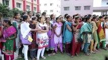 Flash mob by  NOVA college students, Hyderabad