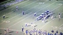 WATCH: Referee Tackled, Texas High School Football Players Intentionally Hit Referee From Behind