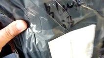 Посылка из Китая с Алиэкспресс Женская черная сумка клач